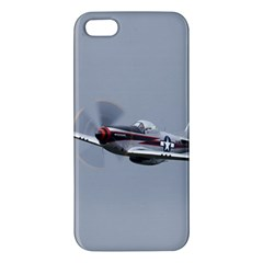 P 51 Mustang Flying Apple Iphone 5 Premium Hardshell Case by Ucco
