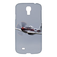 P 51 Mustang Flying Samsung Galaxy S4 I9500/i9505 Hardshell Case by Ucco