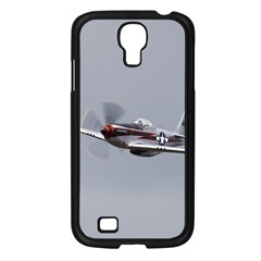 P 51 Mustang Flying Samsung Galaxy S4 I9500/ I9505 Case (black) by Ucco