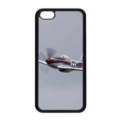 P-51 Mustang Flying Apple Iphone 5c Seamless Case (black) by Ucco