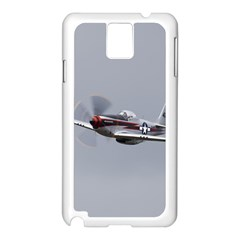 P 51 Mustang Flying Samsung Galaxy Note 3 N9005 Case (white) by Ucco