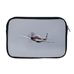 P 51 Mustang Flying Apple Macbook Pro 17  Zipper Case by Ucco