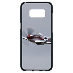 P 51 Mustang Flying Samsung Galaxy S8 Black Seamless Case by Ucco