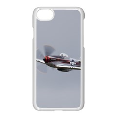 P 51 Mustang Flying Apple Iphone 8 Seamless Case (white)