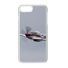 P 51 Mustang Flying Apple Iphone 8 Plus Seamless Case (white) by Ucco