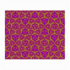 Sacred Geometry Hand Drawing Small Glasses Cloth (2 Side) by Cveti