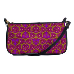 Sacred Geometry Hand Drawing Shoulder Clutch Bags by Cveti
