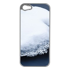 Ice, Snow And Moving Water Apple Iphone 5 Case (silver) by Ucco