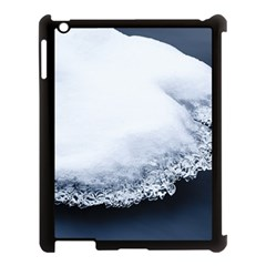 Ice, Snow And Moving Water Apple Ipad 3/4 Case (black) by Ucco