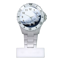 Ice, Snow And Moving Water Plastic Nurses Watch by Ucco
