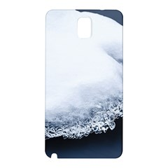 Ice, Snow And Moving Water Samsung Galaxy Note 3 N9005 Hardshell Back Case by Ucco