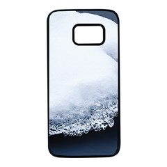 Ice, Snow And Moving Water Samsung Galaxy S7 Black Seamless Case by Ucco
