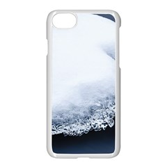 Ice, Snow And Moving Water Apple Iphone 8 Seamless Case (white) by Ucco