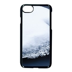 Ice, Snow And Moving Water Apple Iphone 8 Seamless Case (black) by Ucco