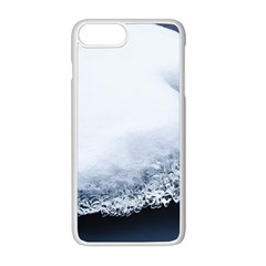 Ice, Snow And Moving Water Apple Iphone 8 Plus Seamless Case (white) by Ucco