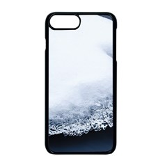 Ice, Snow And Moving Water Apple Iphone 8 Plus Seamless Case (black) by Ucco