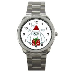 Yeti Xmas Sport Metal Watch