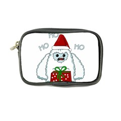 Yeti Xmas Coin Purse by Valentinaart