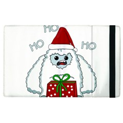 Yeti Xmas Apple Ipad 2 Flip Case by Valentinaart