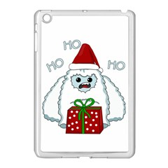 Yeti Xmas Apple Ipad Mini Case (white) by Valentinaart