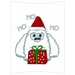 Yeti Xmas Back Support Cushion by Valentinaart