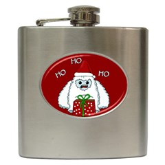Yeti Xmas Hip Flask (6 Oz) by Valentinaart