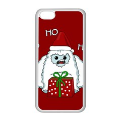 Yeti Xmas Apple Iphone 5c Seamless Case (white) by Valentinaart