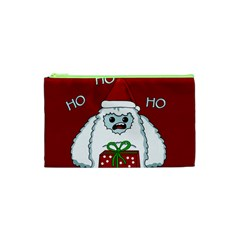 Yeti Xmas Cosmetic Bag (xs) by Valentinaart