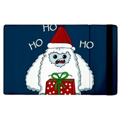 Yeti Xmas Apple Ipad 3/4 Flip Case by Valentinaart