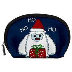 Yeti Xmas Accessory Pouches (large)  by Valentinaart