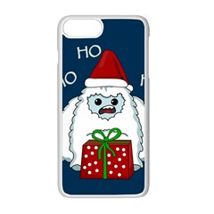 Yeti Xmas Apple Iphone 8 Plus Seamless Case (white) by Valentinaart