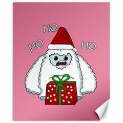 Yeti Xmas Canvas 16  X 20   by Valentinaart