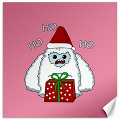 Yeti Xmas Canvas 20  X 20   by Valentinaart