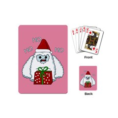 Yeti Xmas Playing Cards (mini)