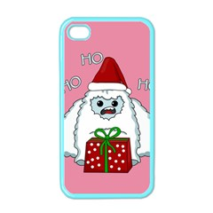 Yeti Xmas Apple Iphone 4 Case (color) by Valentinaart