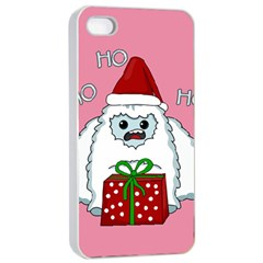 Yeti Xmas Apple Iphone 4/4s Seamless Case (white) by Valentinaart