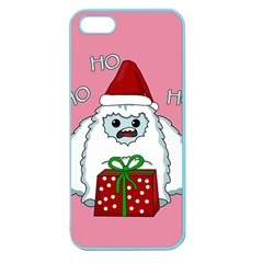 Yeti Xmas Apple Seamless Iphone 5 Case (color)