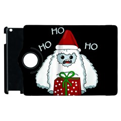 Yeti Xmas Apple Ipad 2 Flip 360 Case by Valentinaart