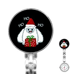 Yeti Xmas Stainless Steel Nurses Watch by Valentinaart