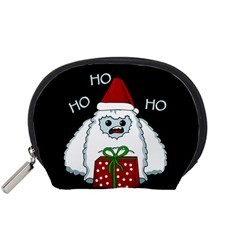 Yeti Xmas Accessory Pouches (small)  by Valentinaart