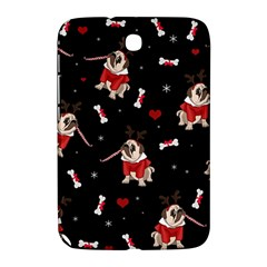 Pug Xmas Pattern Samsung Galaxy Note 8 0 N5100 Hardshell Case  by Valentinaart