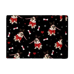 Pug Xmas Pattern Ipad Mini 2 Flip Cases by Valentinaart