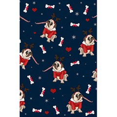 Pug Xmas Pattern 5 5  X 8 5  Notebooks by Valentinaart