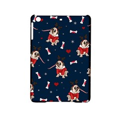 Pug Xmas Pattern Ipad Mini 2 Hardshell Cases