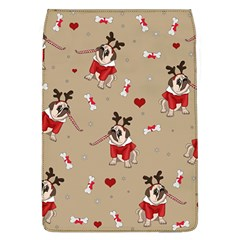 Pug Xmas Pattern Flap Covers (l)  by Valentinaart