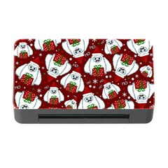 Yeti Xmas Pattern Memory Card Reader With Cf by Valentinaart