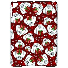 Yeti Xmas Pattern Apple Ipad Pro 9 7   Hardshell Case