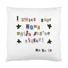 Santa s Note Standard Cushion Case (two Sides) by Valentinaart