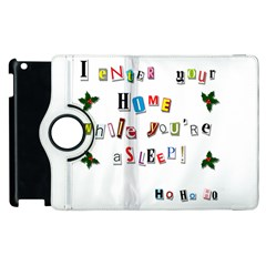 Santa s Note Apple Ipad 2 Flip 360 Case by Valentinaart