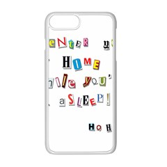 Santa s Note Apple Iphone 8 Plus Seamless Case (white)